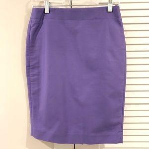 J. Crew No.2 Pencil Skirt Double Serge Cotton NWT